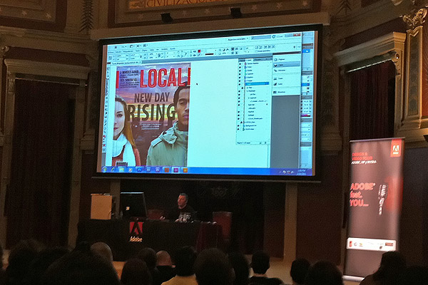 Adobe | HP | NVidia Video & Design Tour - Madrid