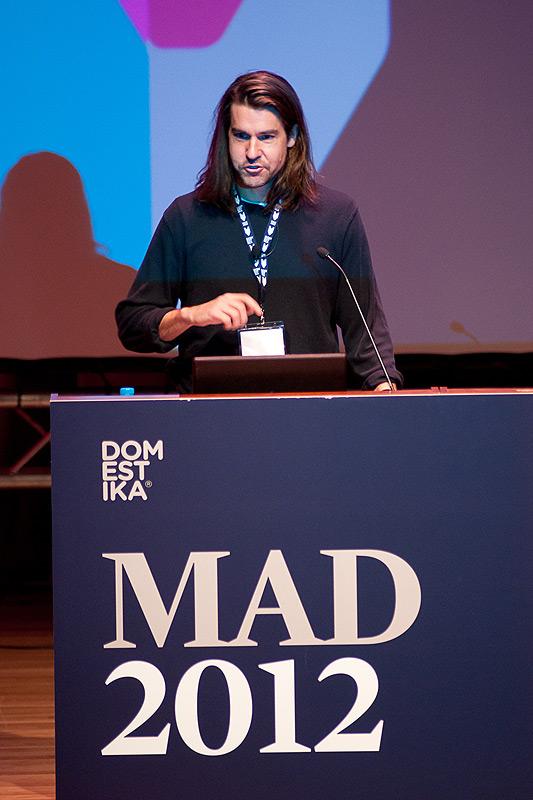 MAD 2012 - Aaron McBride