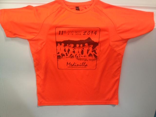 XI Subida Popular a la Teta - Camiseta