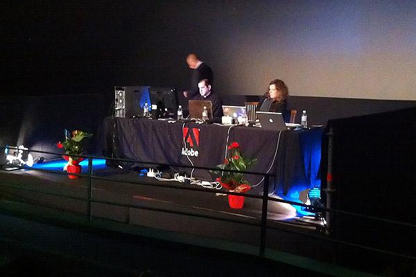Ponentes | Presentación Adobe Creative Suite 5.5 en el IMAX de Madrid