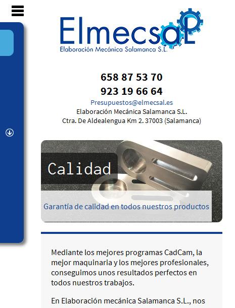 Elmecsal - Responsive