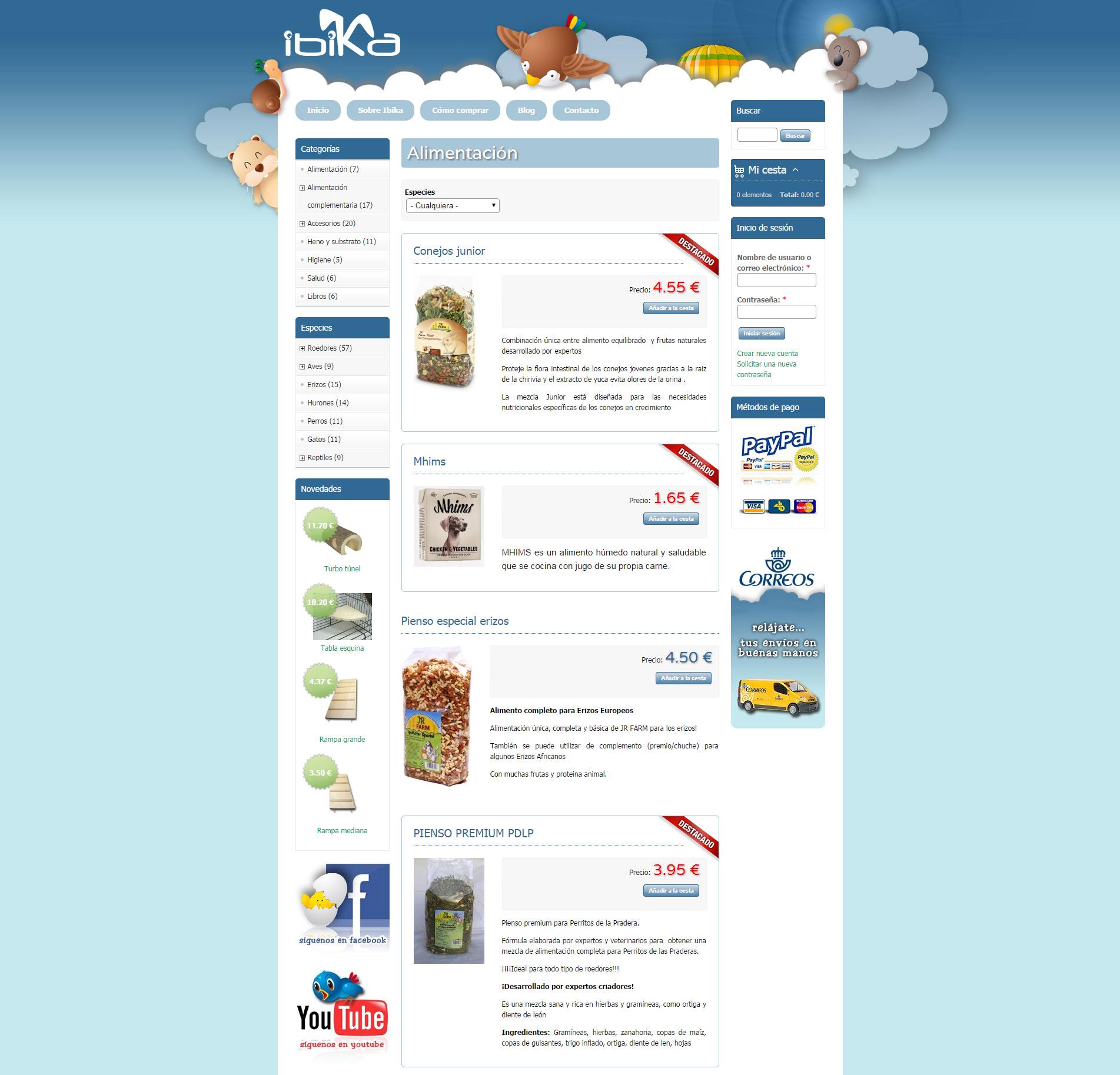 Ibika | Productos