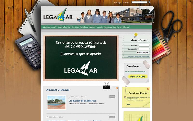 colegiolegamar.es | Colegio Legamar