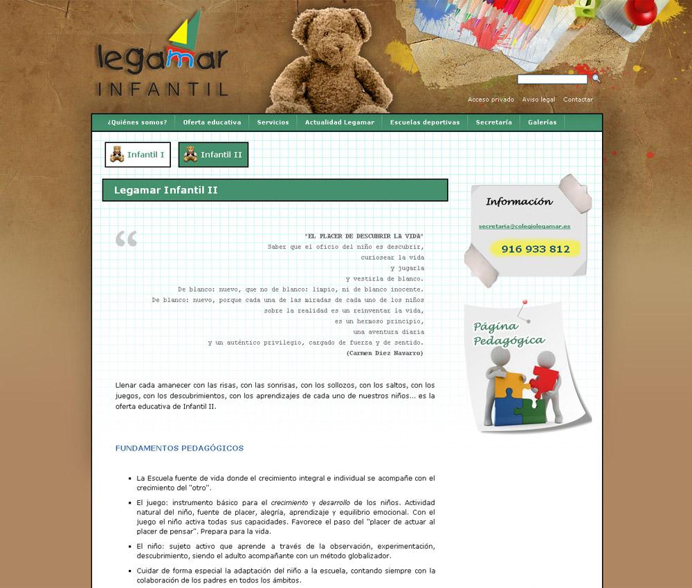 colegiolegamar.es | Colegio Legamar Infantil