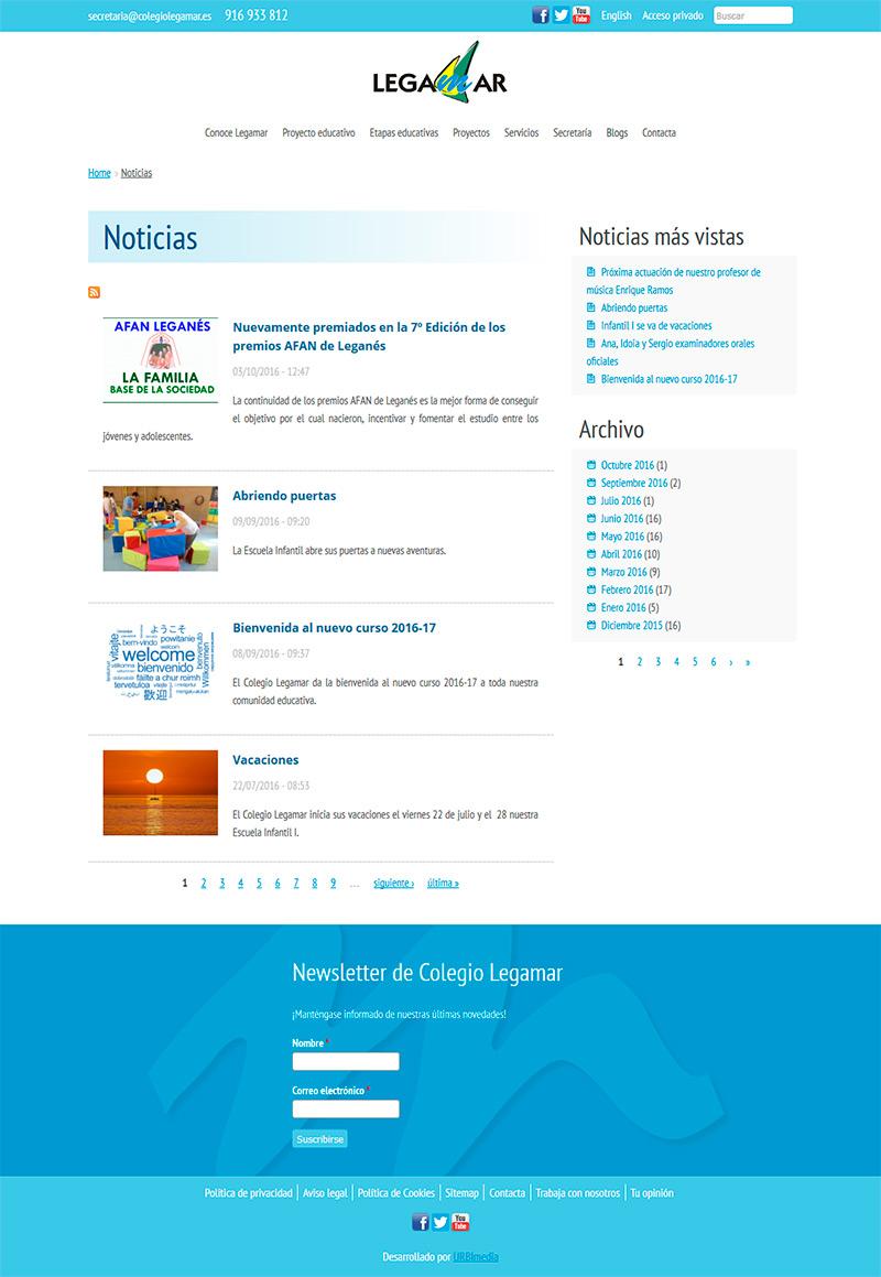 Noticias - Colegio Legamar