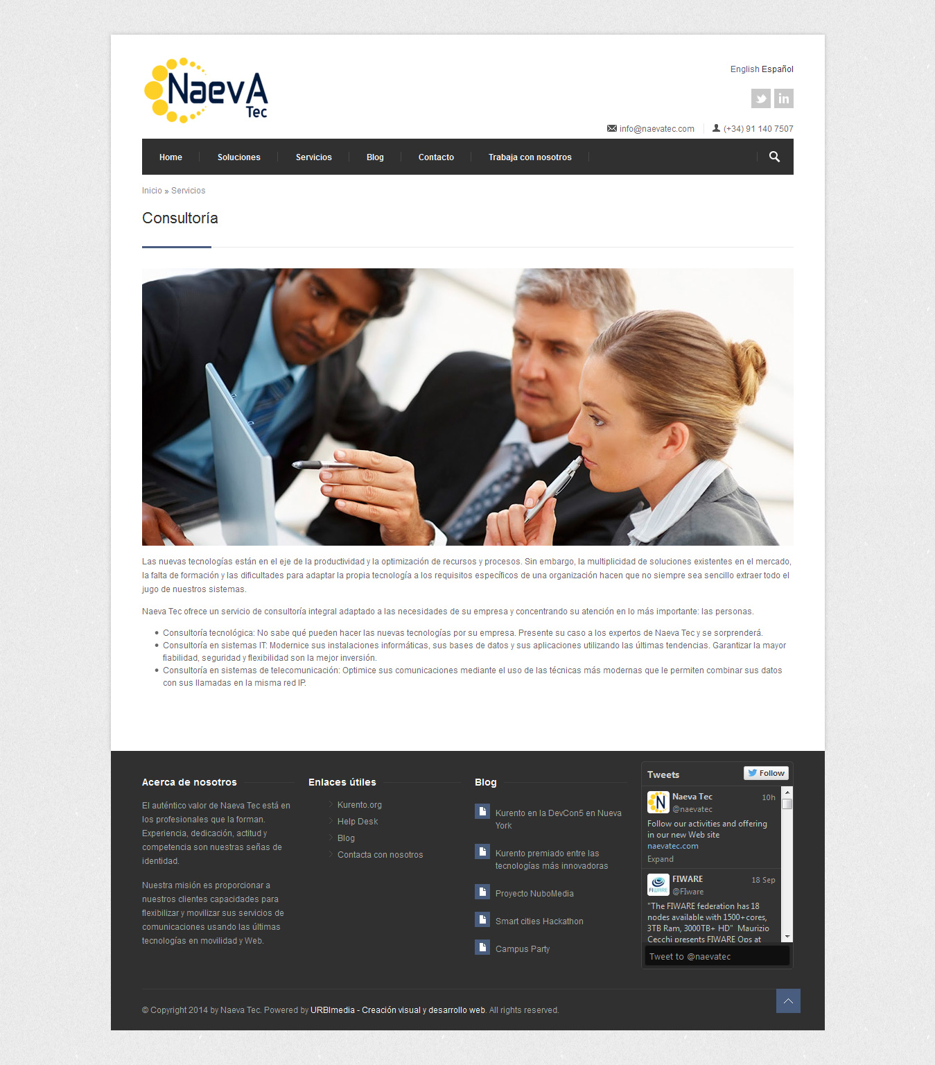 Naevatec - Consultoría