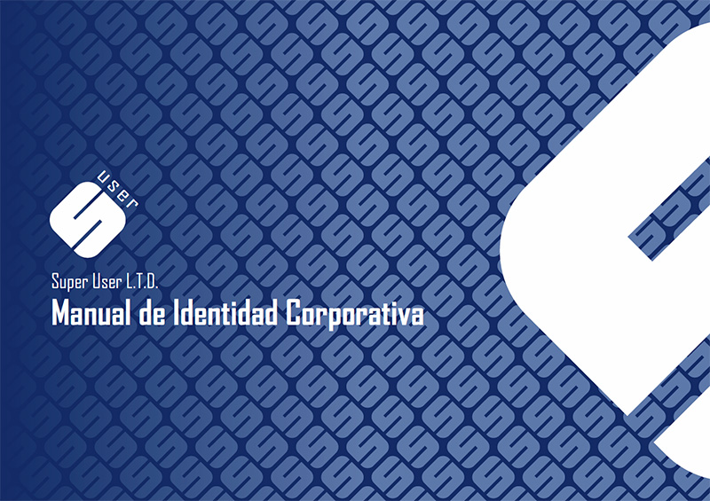 Super User - Portada Manual de Identidad Corporativa