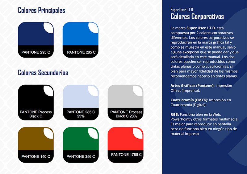Super User - Detalle Manual de Identidad Corporativa