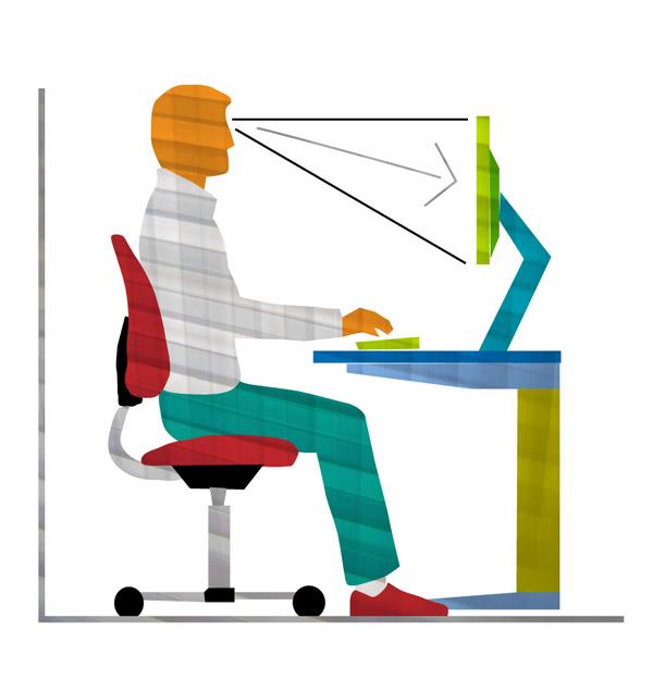 Ergonomía del sedentario