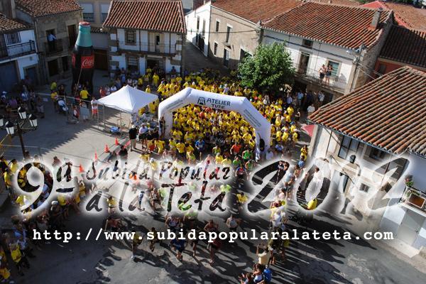 Casi 600 corredores participaron en la IX Subida Popular a la Teta de la que som
