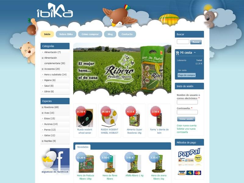 Tenemos nuevo proyecto de tienda online | Ibika