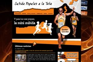 Somos patrocinadores Oro de la XI Subida Popular a la Teta