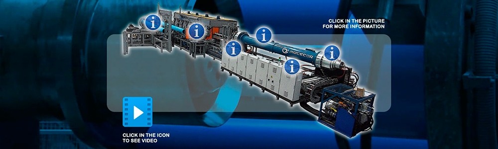 Molecor - Presentación multimedia para pantalla táctil