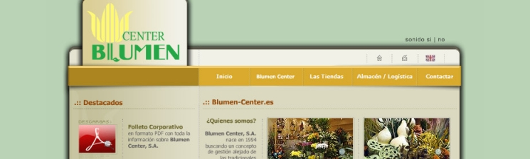 Web Blumen Center