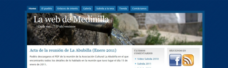 Portal cultural Medinilla.org